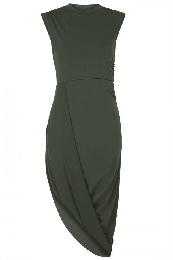 WalG High Neck Drape Dress