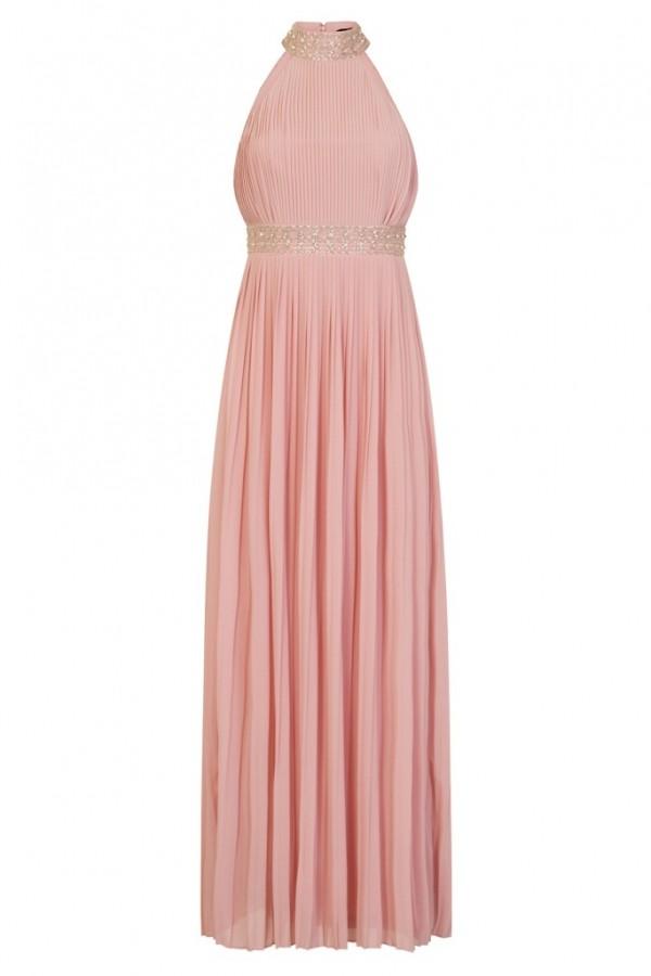 TFNC Kenzi Pink Maxi Dress