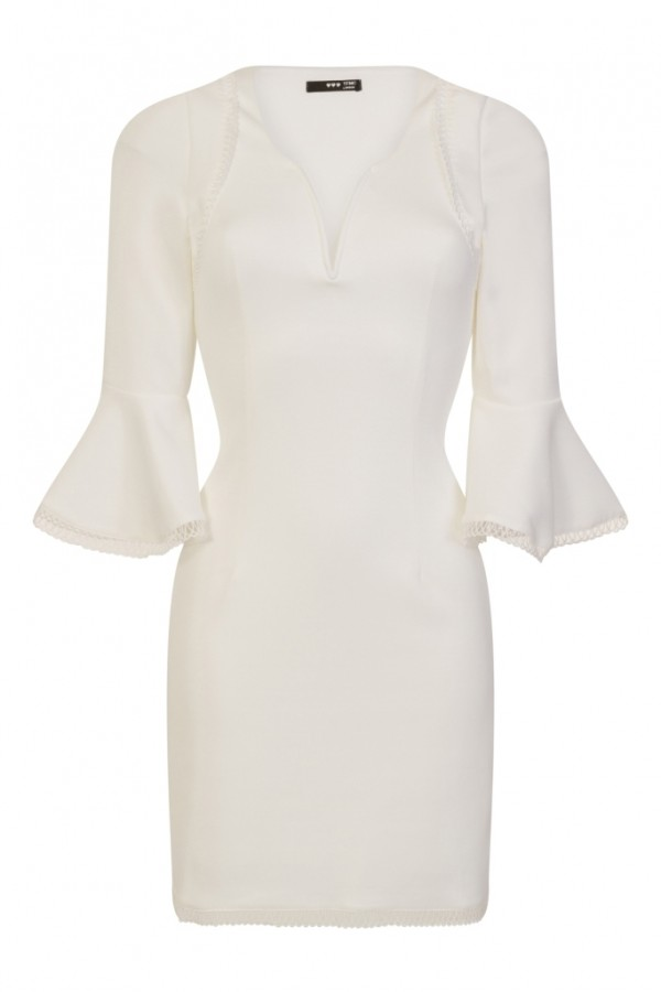 TFNC Amisha White Dress