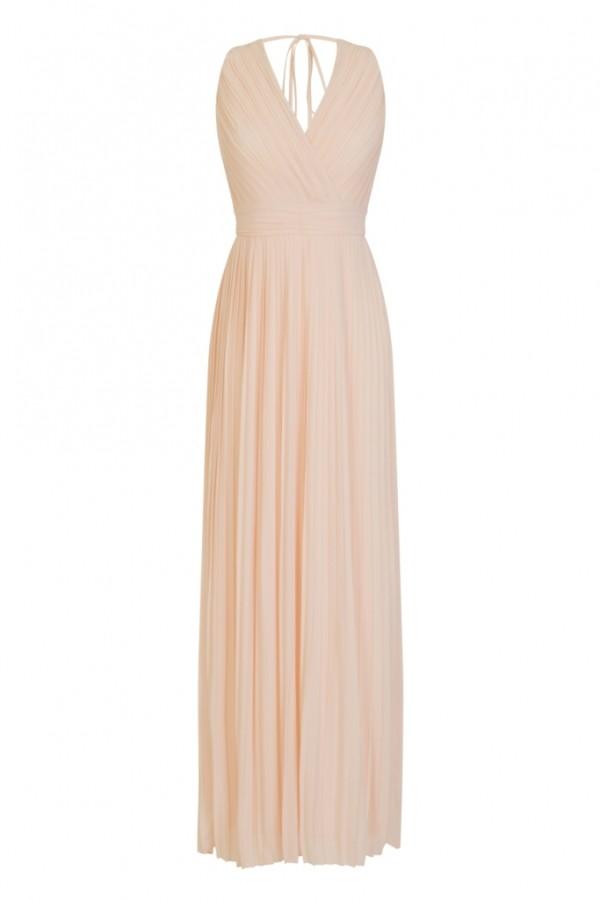 TFNC Stella Nude Maxi Dress