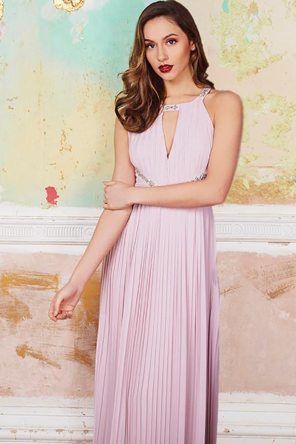 TFNC Avril Mink Maxi Dress