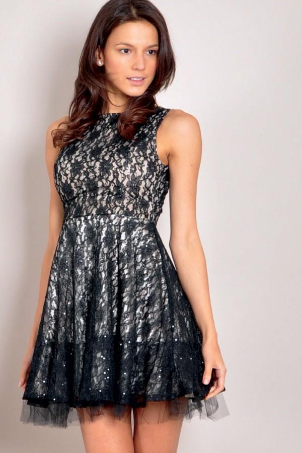 TFNC Diadora Lace Dress