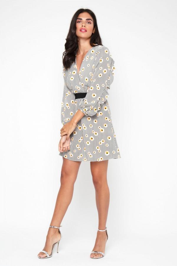 TFNC Sura Floral Mini Dress