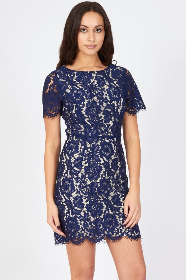 TFNC Emma Navy Dress
