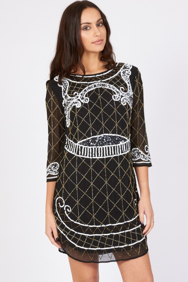 Lace & Beads Rosie Embellished Dress