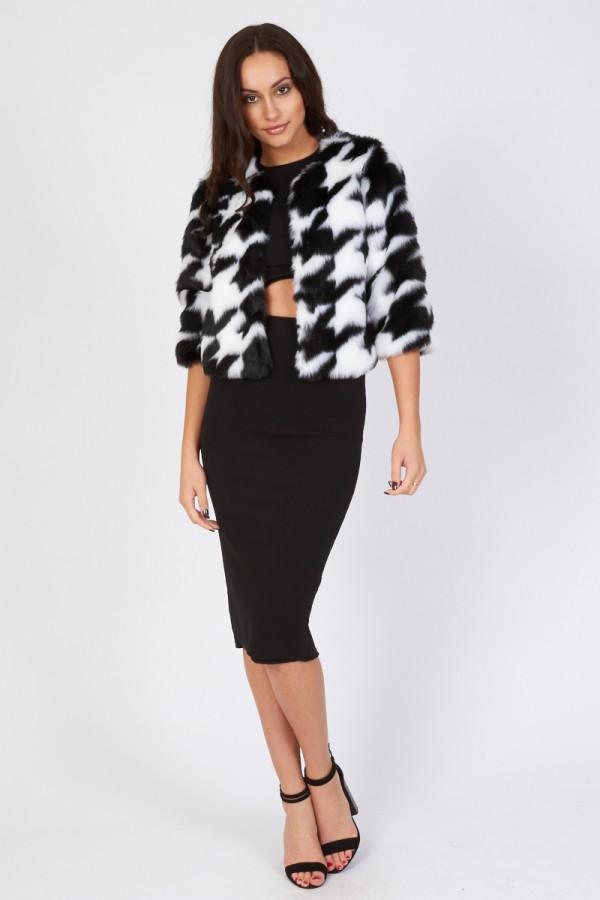 TFNC Sansa Faux Fur Jacket