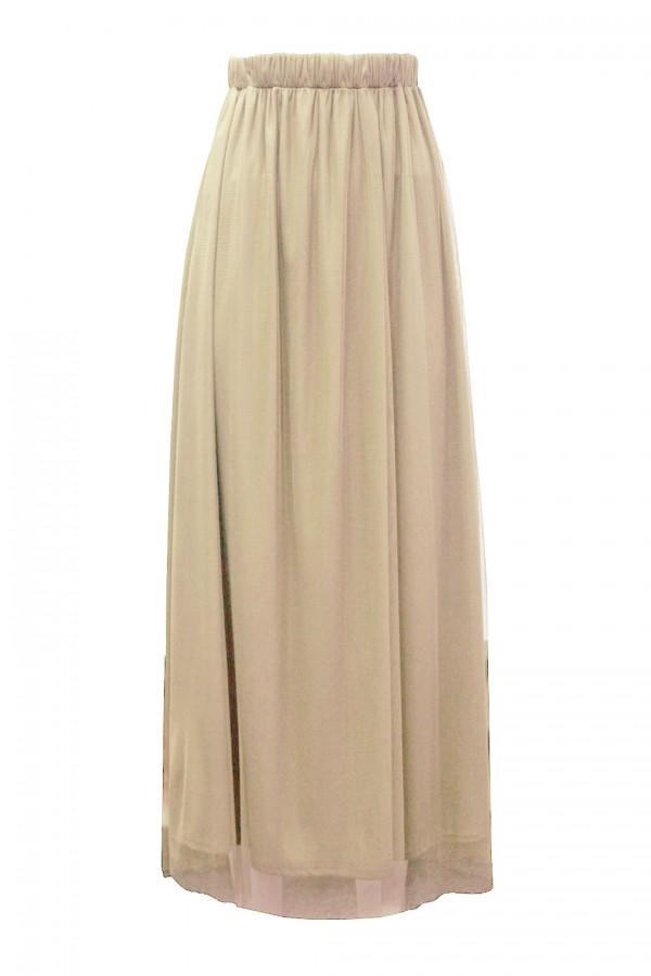 TFNC Frida Cream Skirt