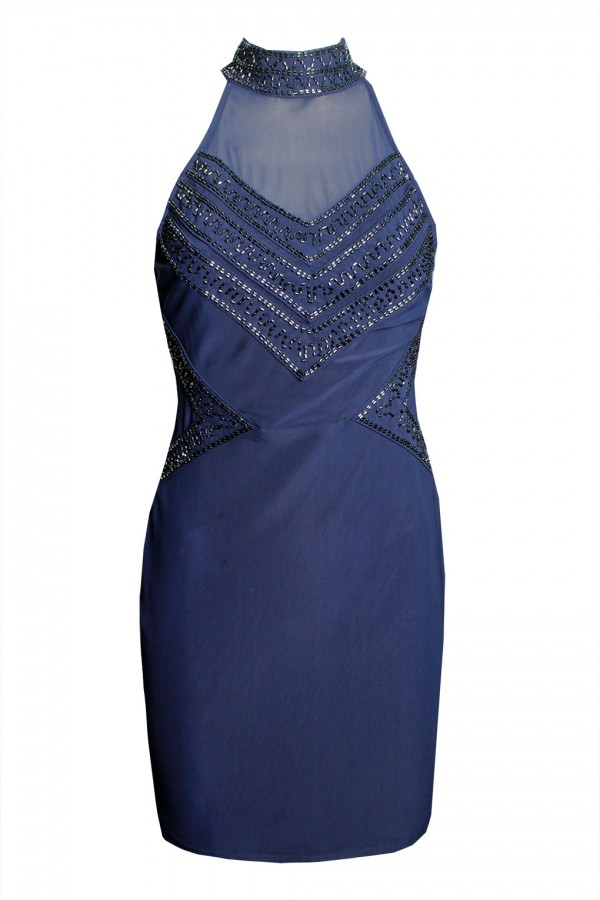 TFNC Rebecca Navy Dress