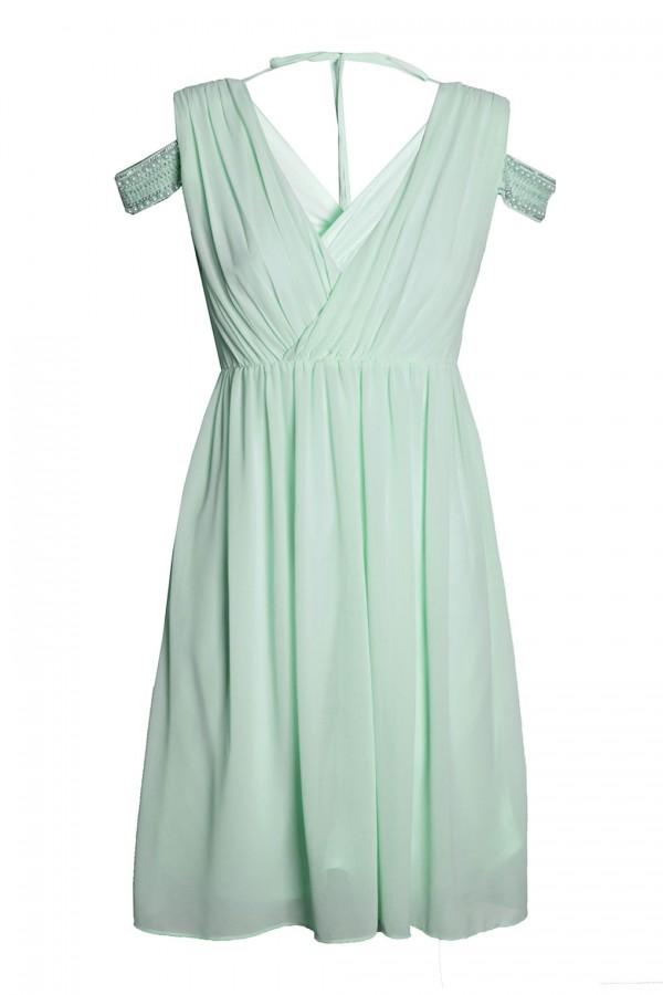 TFNC Hannah Mint Midi Dress
