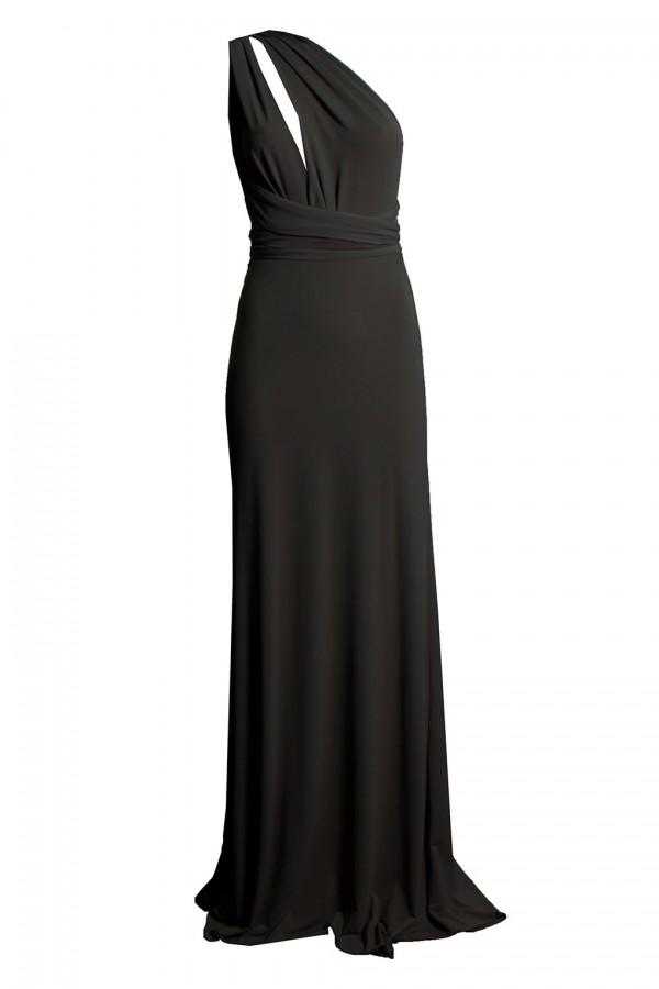 TFNC Multi Way Black Maxi Dress