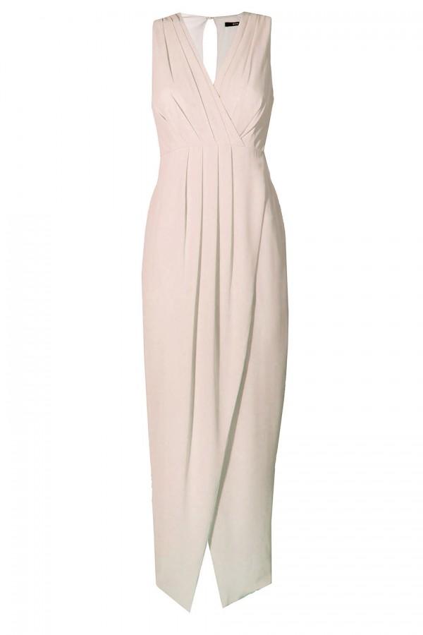TFNC Dixie Nude Maxi Dress