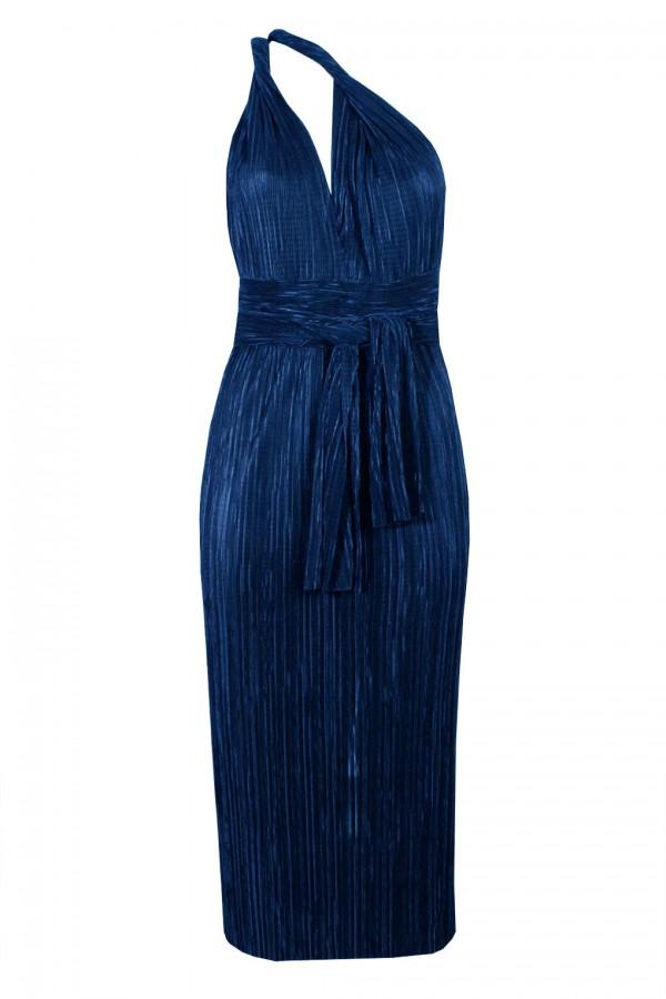 TFNC Elham Multi Way Blue Midi Dress