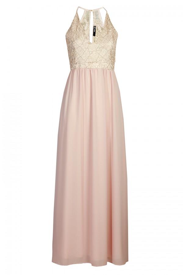TFNC Djamilla Pink Maxi Dress