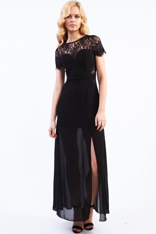 TFNC Harry Lace Maxi Dress