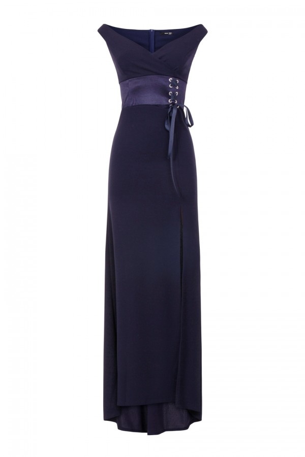 TFNC Nuriya Navy Maxi Dress