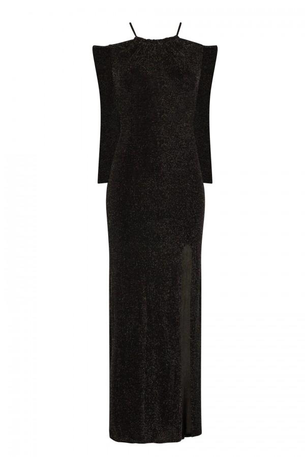 TFNC Alysee Black Maxi Dress