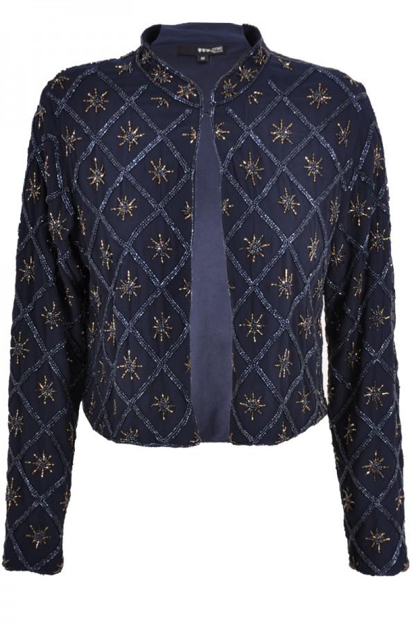 TFNC Jenny Star Embellished Jacket