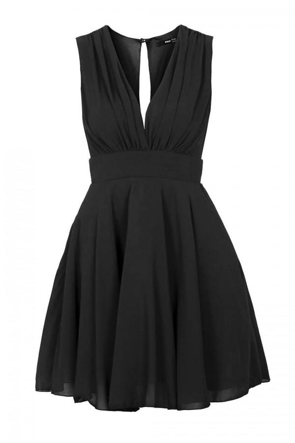 TFNC Nordi Black Dress