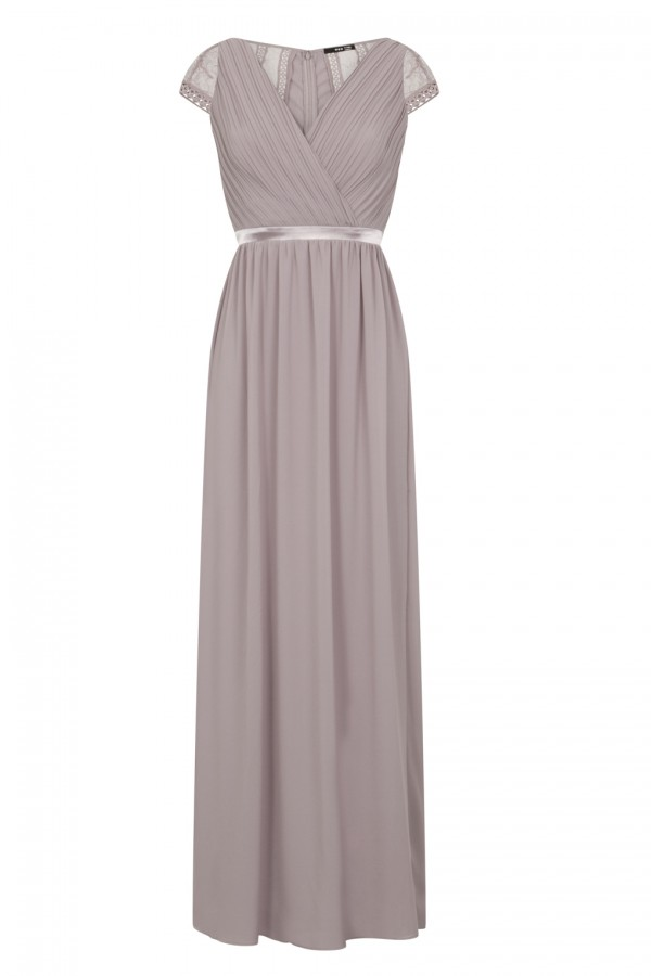 TFNC Hollyn Lavender Fog Maxi Dress