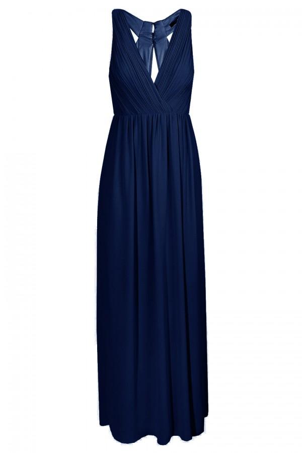 TFNC Cannes Navy Maxi Dress