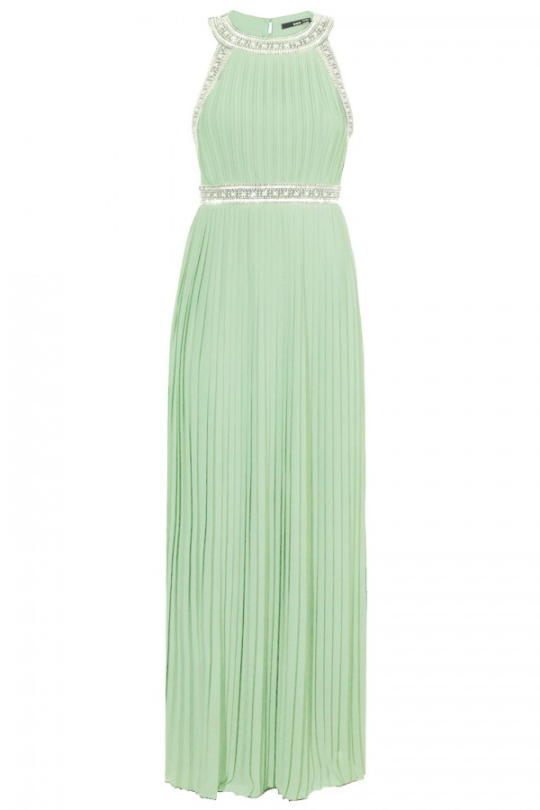TFNC Janice Mint Maxi Dress