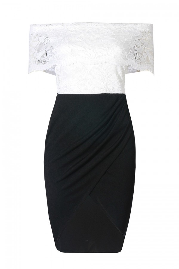 TFNC Angelila Black Dress
