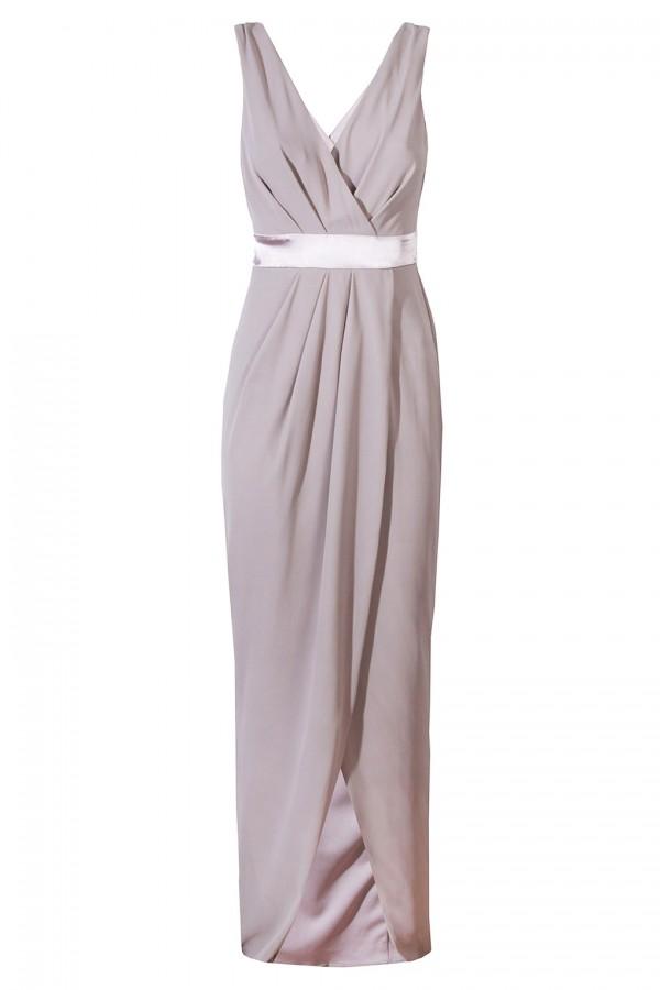 TFNC Alexandra Grey Maxi Dress