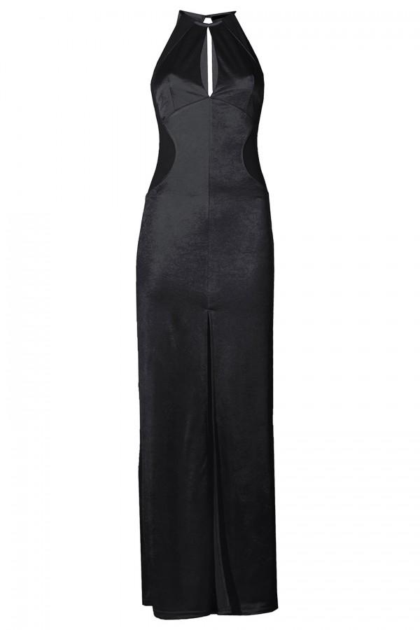 TFNC Abbie Black Maxi Dress