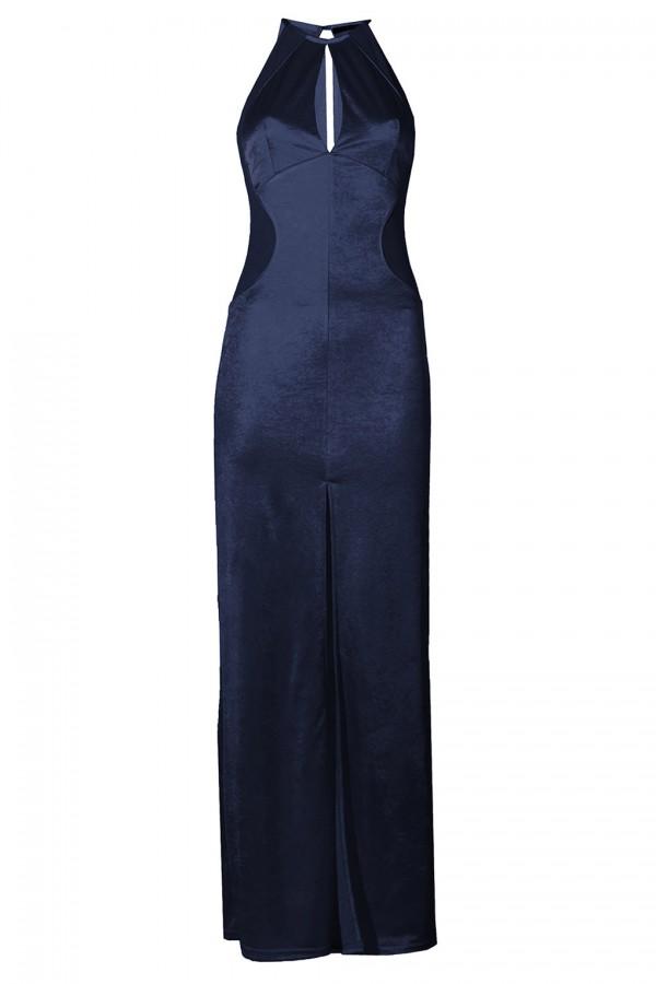 TFNC Abbie Navy Maxi Dress