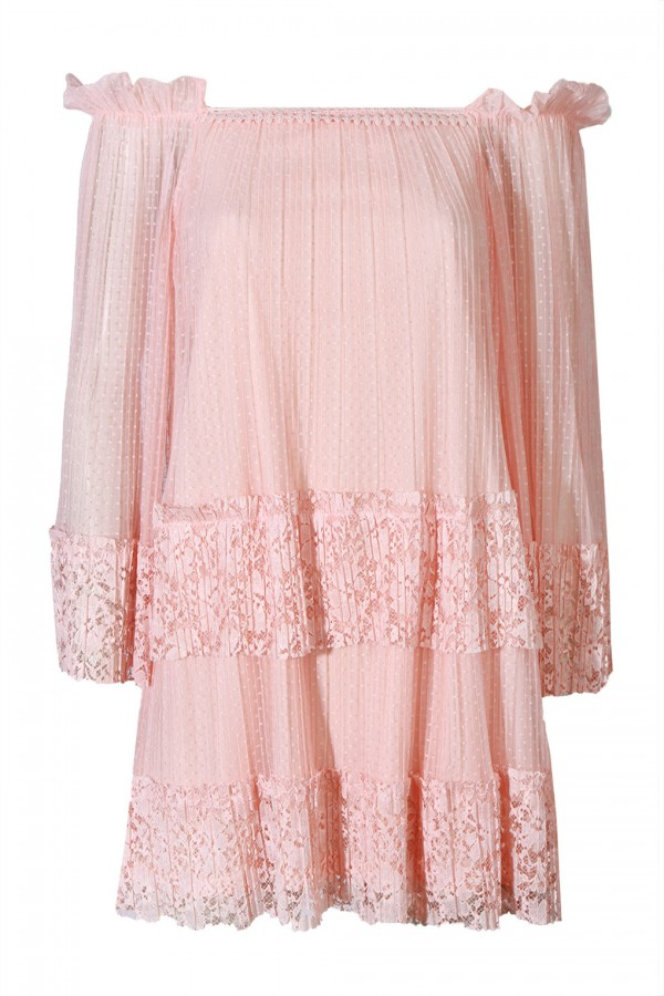 TFNC Cloudy Pink Dress