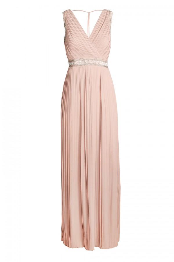 TFNC Linda Nude Maxi Dress