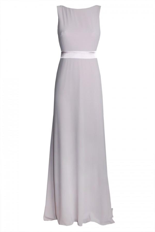TFNC Halannah Grey Maxi Dress