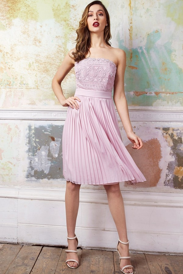 TFNC Kara Mink Midi Dress