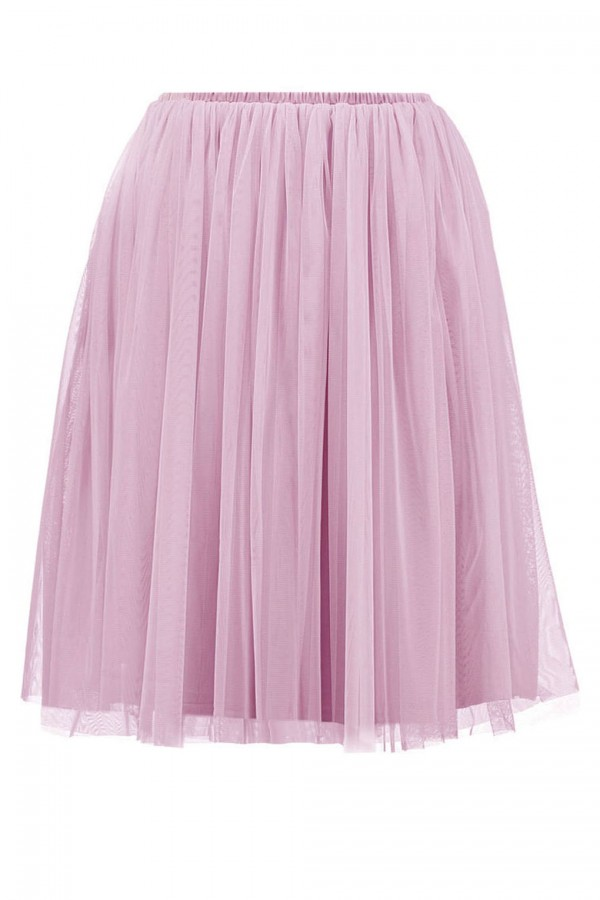 Lace & Beads Val Pink Skirt
