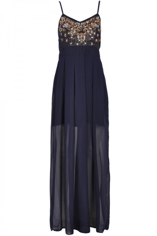 TFNC Miranda Embellished Maxi Dress