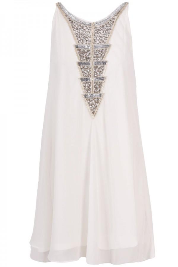TFNC Ofilia Embellished Swing Dress