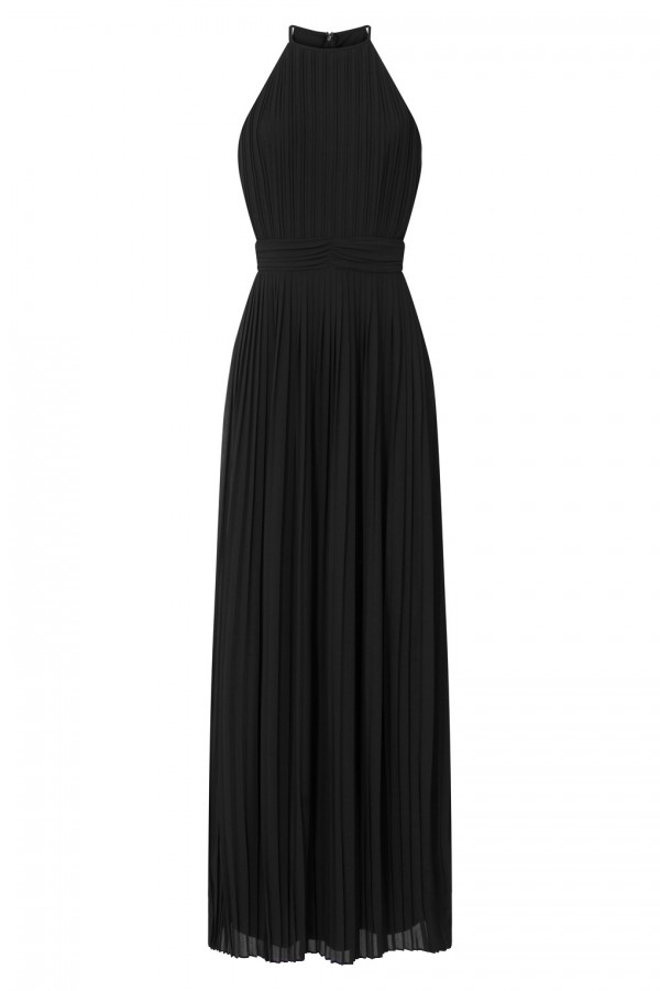 TFNC Serene Black Maxi Dress