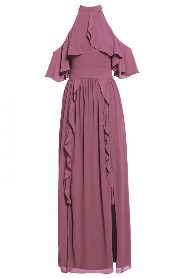 TFNC Bailey Pink Maxi Dress