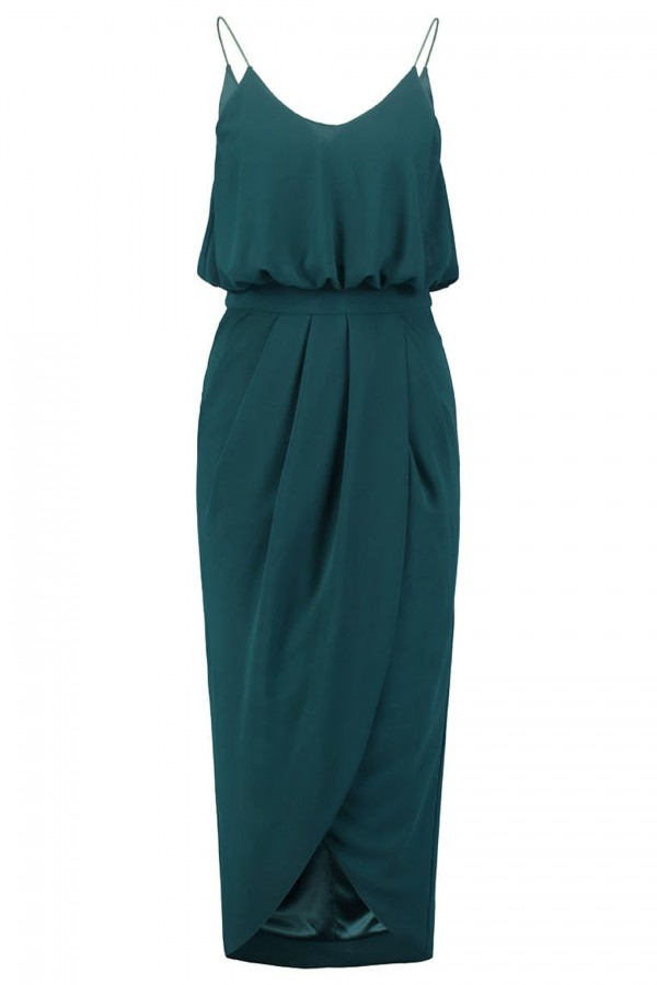 TFNC Shelia Green Cami Dress