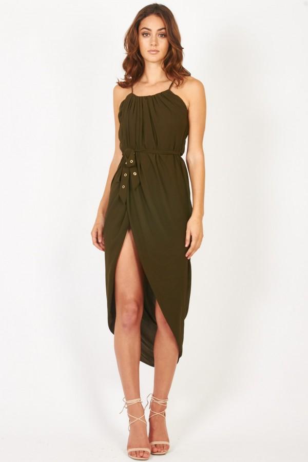 TFNC Zeus Khaki Dress
