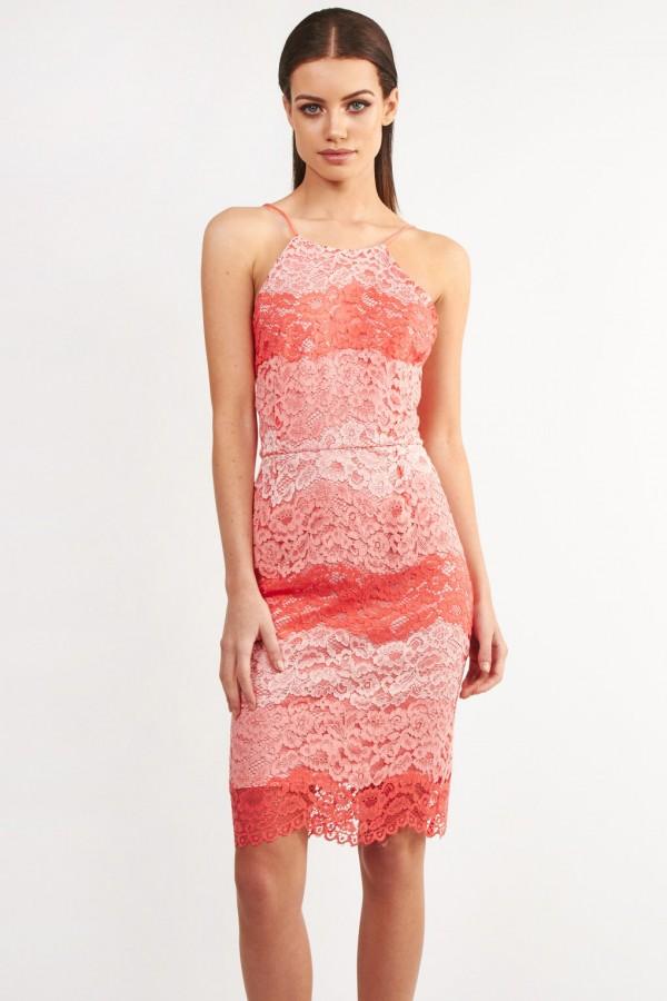 TFNC Anita Coral Cami Dress