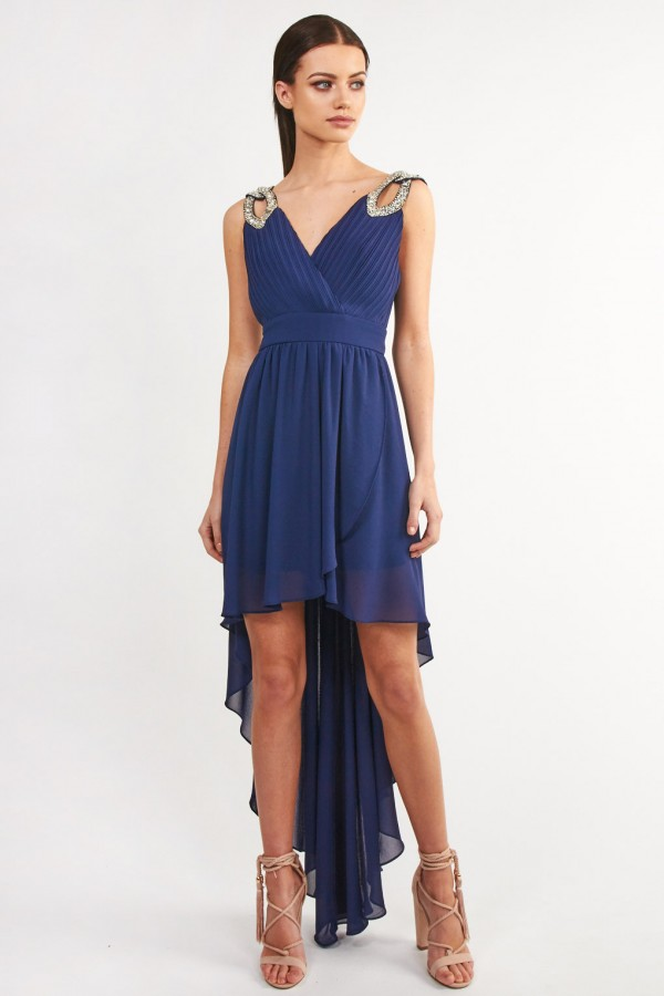 TFNC Debby Hilo Navy Dress