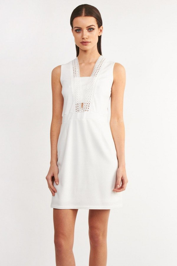 TFNC Rosalina White Dress