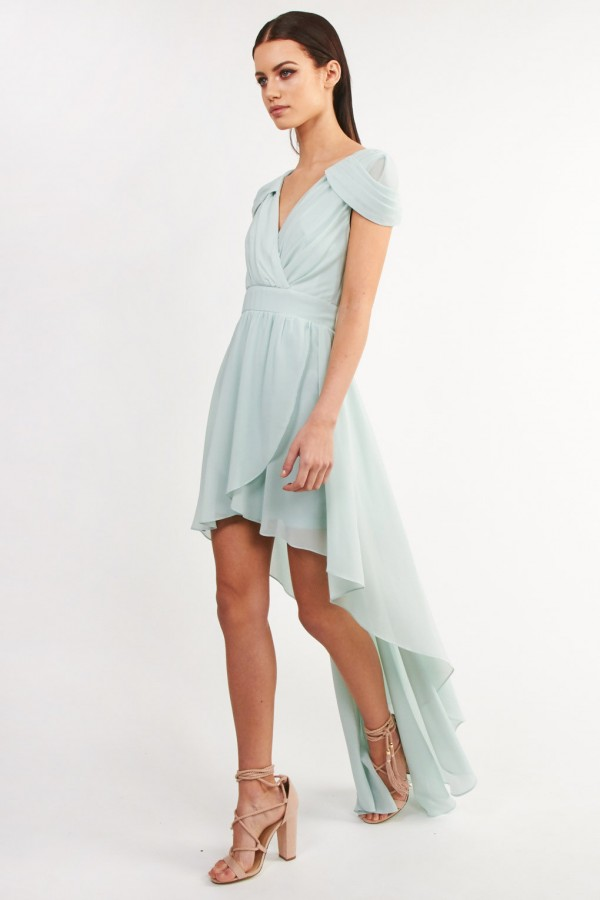 TFNC Hadie Hilo Mint Dress