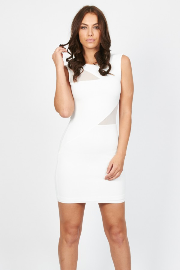 TFNC Saba White Dress