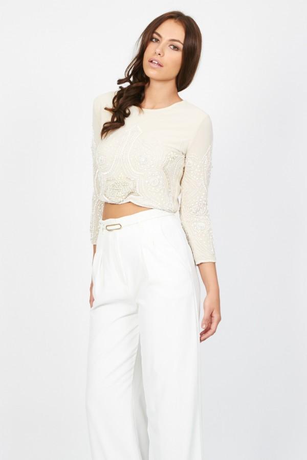 Lace & Beads Biba Beige Jacket