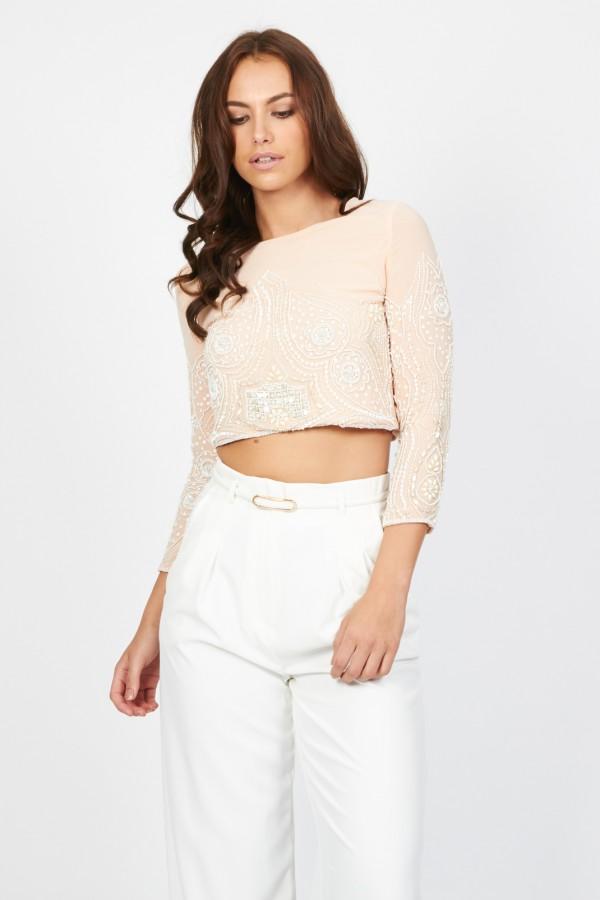 Lace & Beads Biba Pink Jacket
