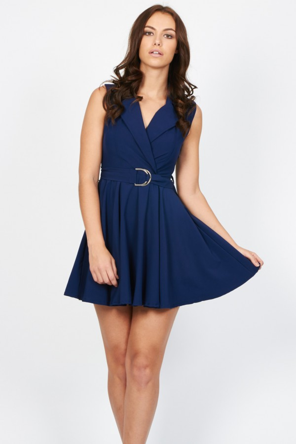 TFNC Harley Navy Dress