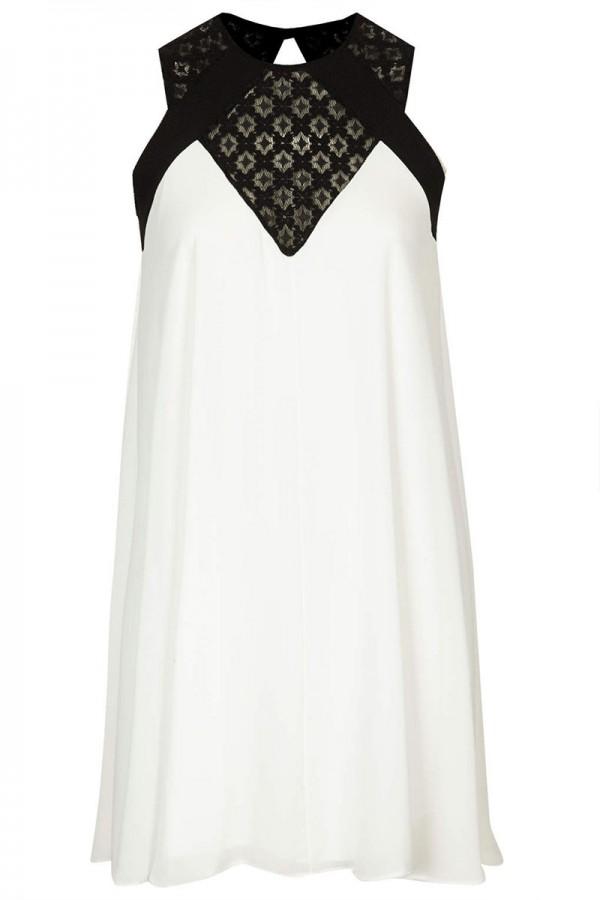TFNC Isadora Contrast Lace Dress
