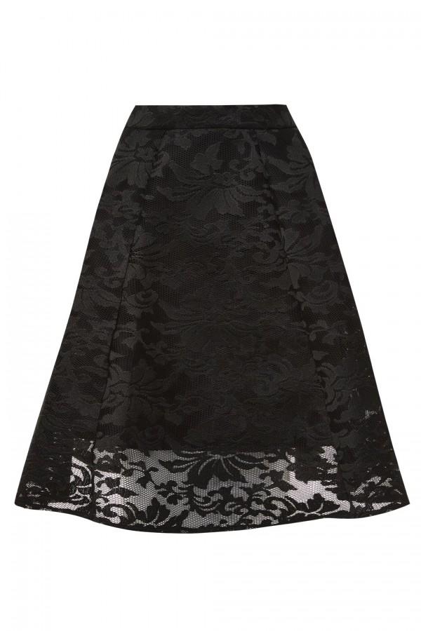 TFNC Katy Black Skirt